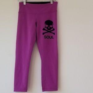 Lululemon X  Soul Pink Leggings